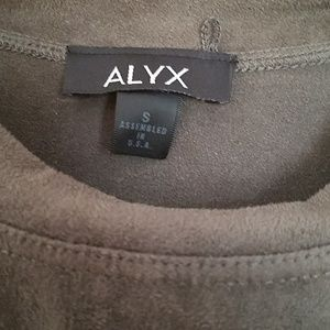 Alyx Tops - High neck velvet tank top